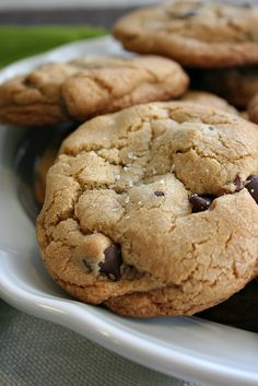 Nutella Stuffed Chocolate Chip Cookies