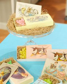 FREE Printable vintage Easter boxes