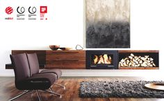 fireplaces on pinterest fireplaces concrete fireplace. Black Bedroom Furniture Sets. Home Design Ideas