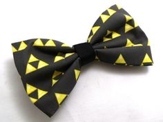 Legend of Zelda TRIFORCE Bow by GeekyGamerShop on Etsy, $6.00