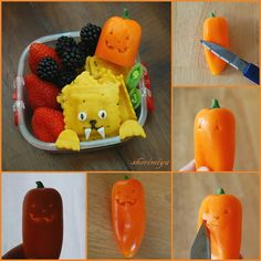 How To Carve A Jack-O-Pepper for Halloween