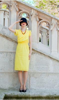 shabby apple cotton, brunches, colors, dresses, the dress, black shoes, apples, cloche hats, shabbi appl