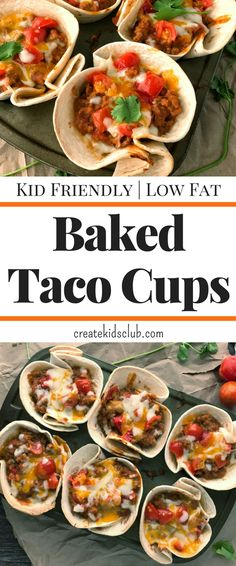 Baked Taco Cups are