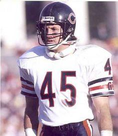 #45, Gary Fencik-1985, Free Safety