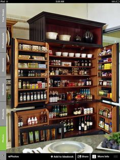 Now that's a pantry!!!