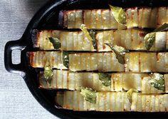 Potato Dominos from Francis Mallmann's book, Seven Fires