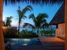 Wow, wow.  Gorgeous.       Jumeirah Vittaveli Resort in Maldives