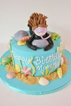 Birthday Cakes New Jersey - Scuba Diving Custom Cakes