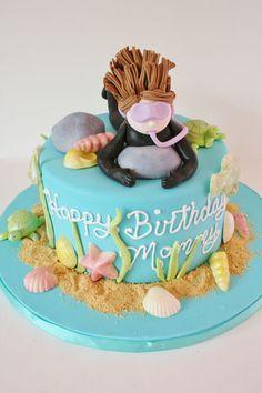 Birthday Cakes New Jersey - Scuba Diving Custom Cakes