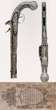 An exceptional pair of highly important, English flintlock pistols with Royal associations by John Knubley, London, ca 1786-87.