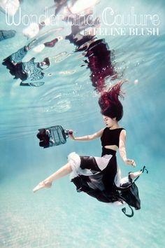 Photographer: Ilse Moore | Model: Elsa Bleda | Feline Blush, Wonderland Couture
