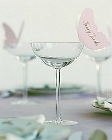 floating placecards
