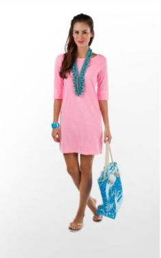 fashion ideas, lilli pulitz, lilly pulitzer, cami dress, summer style, summer outfits, pink, graduation dresses, summer colors
