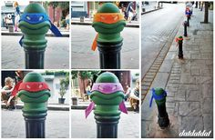 Somebody in Istanbul realized the guard posts on the street look exactly like..