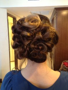 WEDDING UPDO !