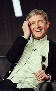 Martin Freeman (The Hobbit, The Hitchhiker's Guide to the Galaxy, Sherlock) Took over Bilbo beautifully; he exactly replicated all of Ian Holme's idiosyncrasies