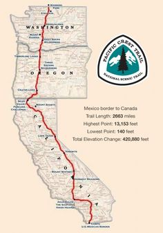 The Pacific Crest Trail (PCT) is the Appalachian Trail's more isolated, lonelier western counterpart.