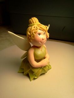 Fondant Tinkerbell Fairy Cake Topper