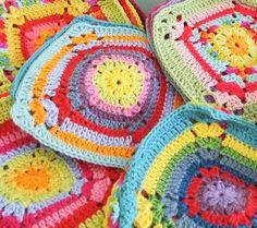 Jennifer Jangles Blog: My Crochet Afghan Progress