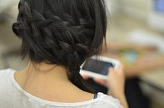 Waterfall braid videos