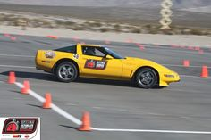 Joe Shown runs his ZR1 Corvette on the autocross at the 2011 #OUSCI
