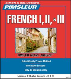 Pimsleur French 1, II, III (disc cds)