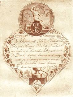 Absinthe Maps at The Virtual Absinthe Museum: Labels & Wrappers