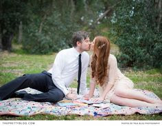 Picnic in Central Park- engagement shoot  | Photography: True Bliss Photography
