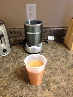 Snack Orange Nutriblast (Banana, Carrots, Peach, Strawberries, Cranberries)
