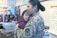 Soldier Mom Surprises Daughter She Hadn't Seen in a Year & We Can't Stop Crying (VIDEO)