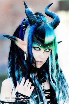 Dark Faun Queen by Psychara on deviantART