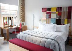 Móveis para decorar os pés da cama.