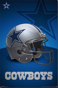 Dallas Cowboys poster by CAGDallas on Etsy, $9.00