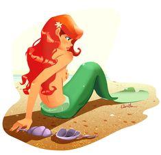 Ariel : deviantART by lanutak