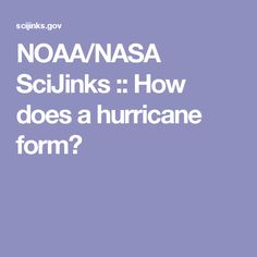 NOAA/NASA SciJinks :