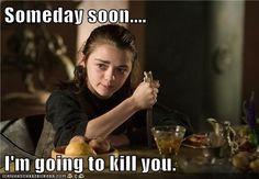 Oh, Arya.