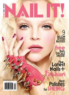 The magazine for nail lovers just hit newsstands! From nail art tutorials to celebrity trends; hair and beauty to fashion, this magazine has it all! Reserve your copy today!