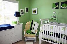 Love this turtle-themed nursery!