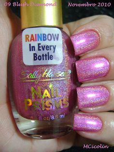 Sally Hansen Nail Prisms Blush Diamond