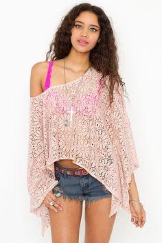 Love Child Crochet Top