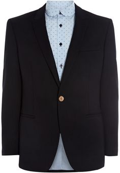 Remus Uomo Single Breasted Peak Lapel Waffle Weave Jacket in Blue for Men (Navy) - Lyst