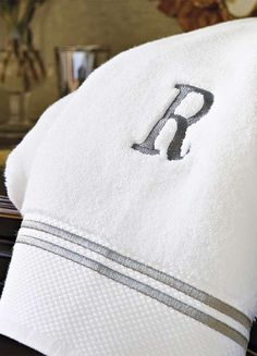 An easy way to freshen your towel assortment...