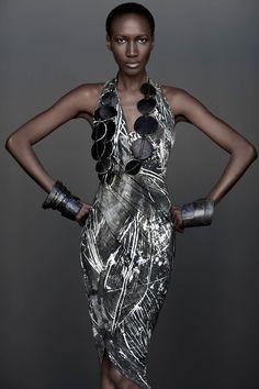 divalocity:  Nana Keita by Adama Franzino for Urban Zen by Donna Karan