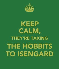 Hobbits calm