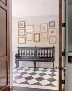 LA house - Hall outside MB -Styled for Veranda's House of Windsor Designer Showcase