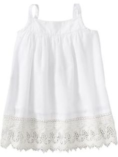 Laced-Hem Tank Dresses for Baby | Old Navy