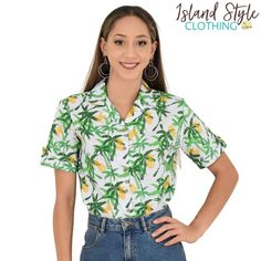 Ladies Hawaiian Shir