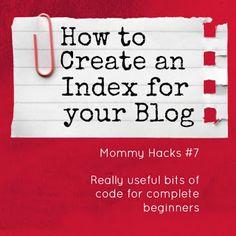 create an index!