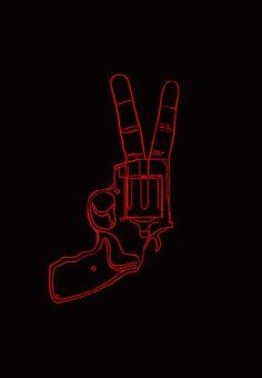 """Peace Bang"" by Nicebleed"