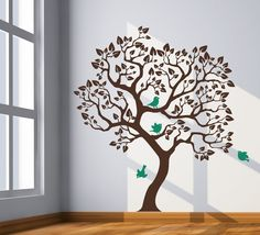 Ideas for family tree wall painting.